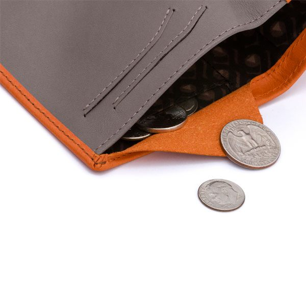 Bellroy Note Sleeve Burnt Orange
