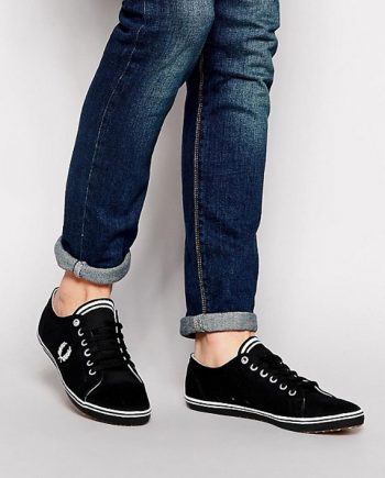 Fred-Perry-Kingston-Twill-Black-2