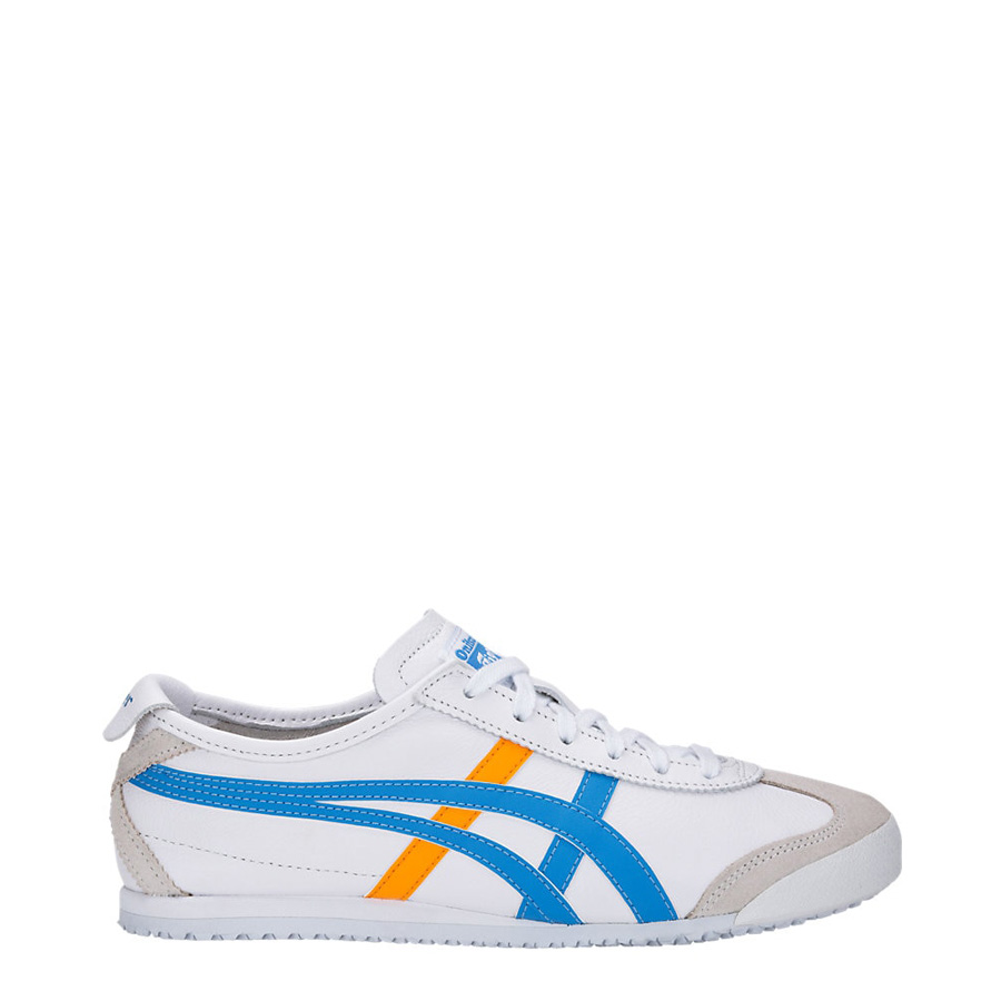 new style 5ed2a 4f4bb Onitsuka Tiger Mexico 66 White/Azul Blue Women's