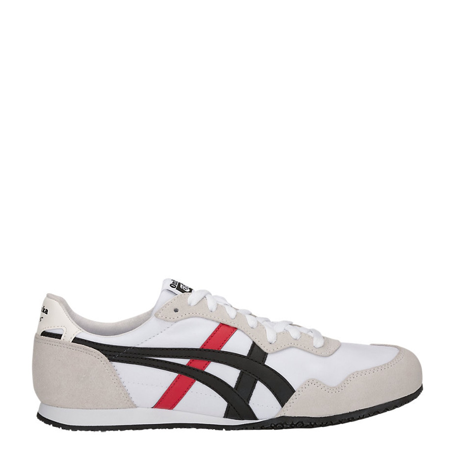 new concept 18281 eec27 Onitsuka Tiger Serrano White/Black Mens