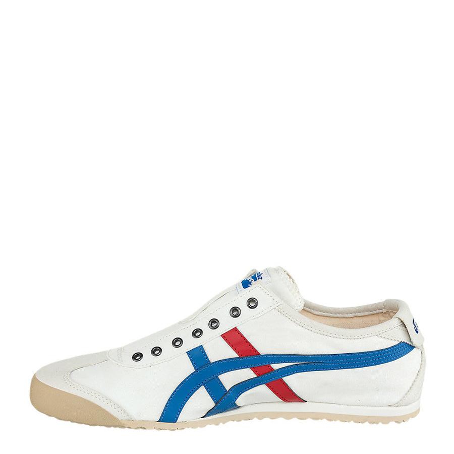 online retailer 571b4 64974 Onitsuka Tiger Mexico 66 Slip-On White/Tricolour Men's