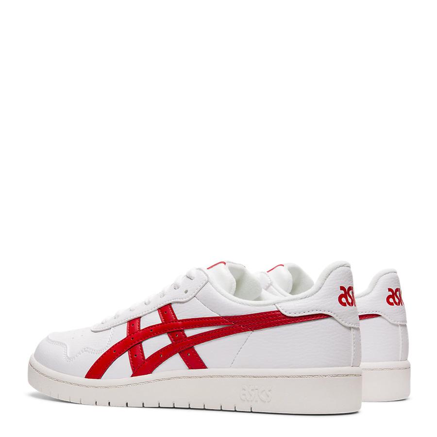 Asics Tiger Japan S White/Speed Red Men