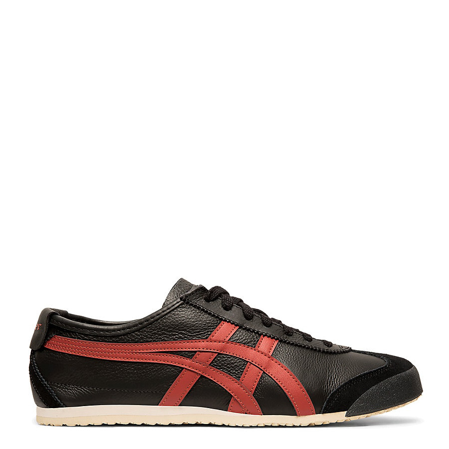 reputable site 6ad24 72cbe Onitsuka Tiger Mexico 66 Black/Burnt Red Men's