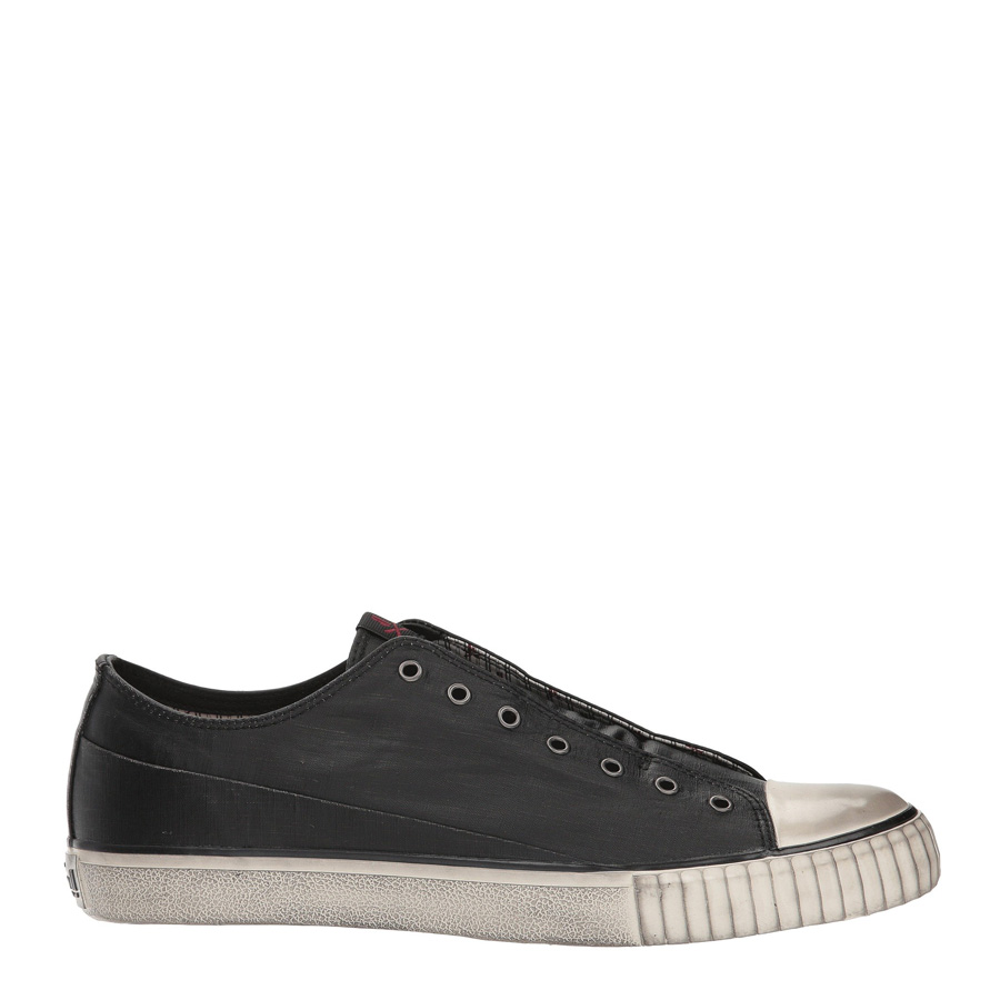 JOHN VARVATOS Mens Laceless Low Top